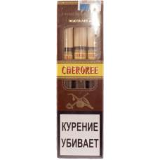 Сигариллы CHEROKEE Wood Tip Chocolate N5 (Шоколад) с мундштуком 3 шт
