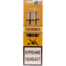 Сигариллы CHEROKEE Wood Tip Vanilla N3 (Ваниль) с мундштуком 3 шт