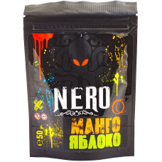 Смесь NERO 50 г Манго Яблоко (mango apple) (кальянная без табака)