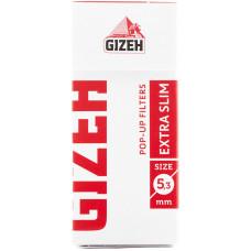 Фильтры для самокруток GIZEH Extra Slim Pop-Up Filters 5.3 мм 126 шт