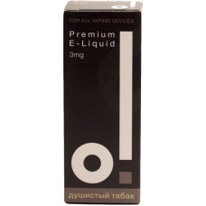 Жидкость О! 30 мл Душистый табак 3 мг/мл