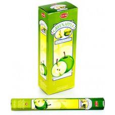 Благовония HEM Зеленое Яблоко Green apple Аромапалочки Hexa
