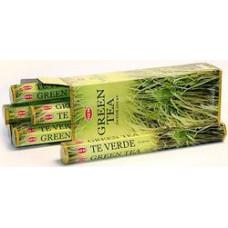 Благовония HEM Зеленый Чай Green Tea Аромапалочки Hexa