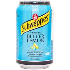 Напиток Schweppes Bitter Lemon 330 мл