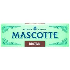 Бумага сигаретная MASCOTTE Brown 50 лист.