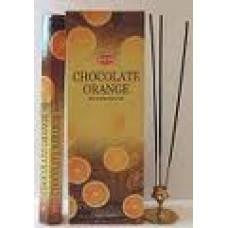 Благовония HEM Шоколад-Апельсин ORANGE-CHOKOLATE Аромапалочки Hexa