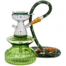Кальян MYA Микро Колба зеленая стекло h=20 см S528247 MIKRO
