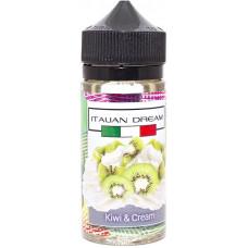 Жидкость Italian Dream 100 мл Kiwi Cream 0 мг/мл
