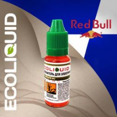 Жидкость EcoLiquid 15 мл РедБулл 0 мг/мл