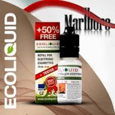 Жидкость EcoLiquid 15 мл Табачная Мальборо 18 мг/мл