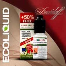 Жидкость EcoLiquid 15 мл Табачная Dav 24 мг/мл  (Давидофф)