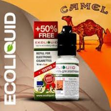 Жидкость EcoLiquid 15 мл Табачная Cam 0 мг/мл  (Кемел)