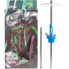 Кальян NUBE JUNIOR Silicone h=48 см Голубой Blue без колбы и чаши