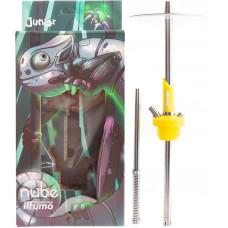 Кальян NUBE JUNIOR Silicone h=48 см Желтый Yellow без колбы и чаши