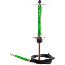 Кальян NUBE VOLT h=52,5 см Зеленый Green без колбы и чаши