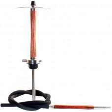 Кальян NUBE Zebrano h=52,5 см Красный Red без колбы и чаши