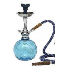 Кальян MYA TANGO MINI Колба голубое стекло 582253 C h=40 см