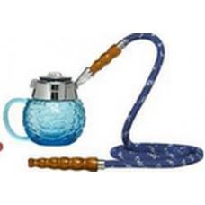 Кальян MYA Coppa Колба голубое стекло 589141C h=14 см