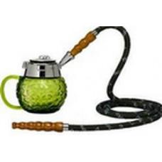 Кальян MYA Coppa Колба зеленое стекло 589141C h=14 см