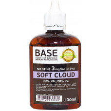 Основа ElMerck Премиум Soft Cloud 100 мл  VG/PG 80/20  3 мг/мл