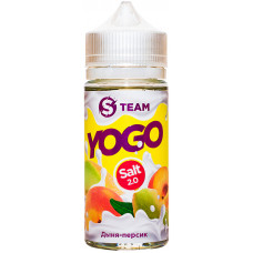 Жидкость S Team Salt 100 мл Yogo Дыня Персик 3 мг/мл