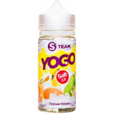 Жидкость S Team Salt 100 мл Yogo Груша Банан 3 мг/мл