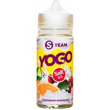 Жидкость S Team Salt 100 мл Yogo Черешня Апельсин 3 мг/мл