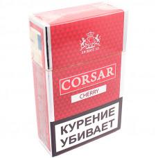 Сигариллы CORSAR Пачка 20шт 84мм Cherry Вишня (CORSAR Of The Queen Королевский Корсар)