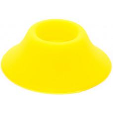 Подставка под аккумуляторы на 1 шт силикон Желтый