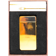 Зажигалка Электронная microUSB Jin Lun JL 602 Золото
