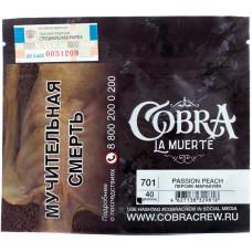 Табак Cobra La Muerte 40 гр Персик маракуйя 701 Passion Peach
