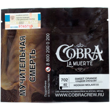Табак Cobra La Muerte 40 гр Сладкий апельсин 702 Sweet Orange