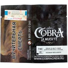 Табак Cobra La Muerte 40 гр Дьявольский пирог с орехами 740 Devil's Nut Cake