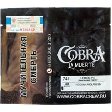 Табак Cobra La Muerte 40 гр Лимонный пирог 741 Lemon Pie
