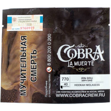 Табак Cobra La Muerte 40 гр Айрн Брю 770 Irn Bru