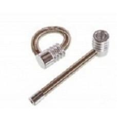 Трубка метал Пружинка средняя Medium Spring L= 10,7 см YD080A