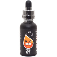 Жидкость Drip Pet 30 мл Красный 0 мг/мл