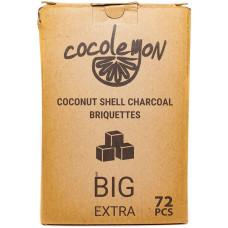 Уголь для кальяна Cocolemon Big 72 кубика 25*25*25