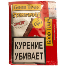 Сигариллы Good Times Stonewood 5 шт Сладкие Стоунвуд
