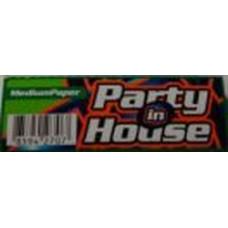 Бумага сигаретная Party in House Green 50 лист.