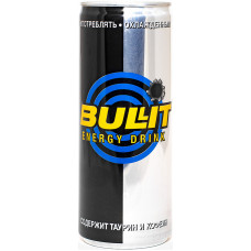 Напиток Bullit Energy Drink 0.25л