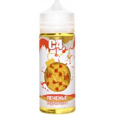 Жидкость С4 127 мл Печенье Клубничное 3 мг/мл