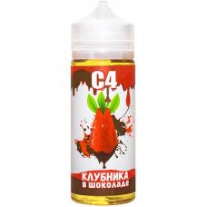 Жидкость С4 127 мл Клубника в Шоколаде 3 мг/мл
