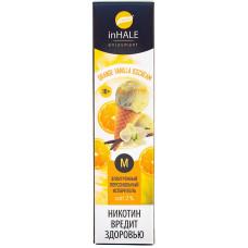 Вейп INHALE M 550 тяг Orange Vanilla Icecream 2% Salt Одноразовый 400 mAh