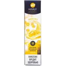 Вейп INHALE M 550 тяг Banana Milk 2% Salt Одноразовый 400 mAh