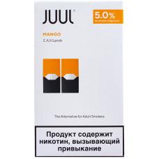 Картридж JUUL Mango 2-Pack 0.7 мл 50 мг
