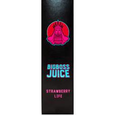Жидкость Big Boss Juice 60 мл Strawberry Life 3 мг/мл