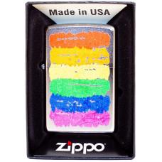 Зажигалка Zippo 205 Rainbow Colors Design