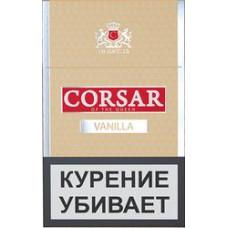 Сигариллы CORSAR LE Пачка 20шт 84мм Vanilla Ваниль (CORSAR Of The Queen Королевский Корсар)