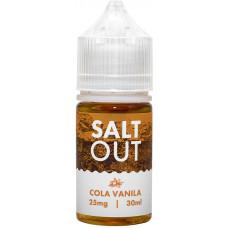 Жидкость Salt Out 30 мл Cola Vanila 25 мг/мл
